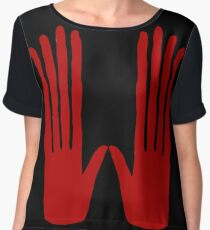 Hands of Fate Chiffon Top