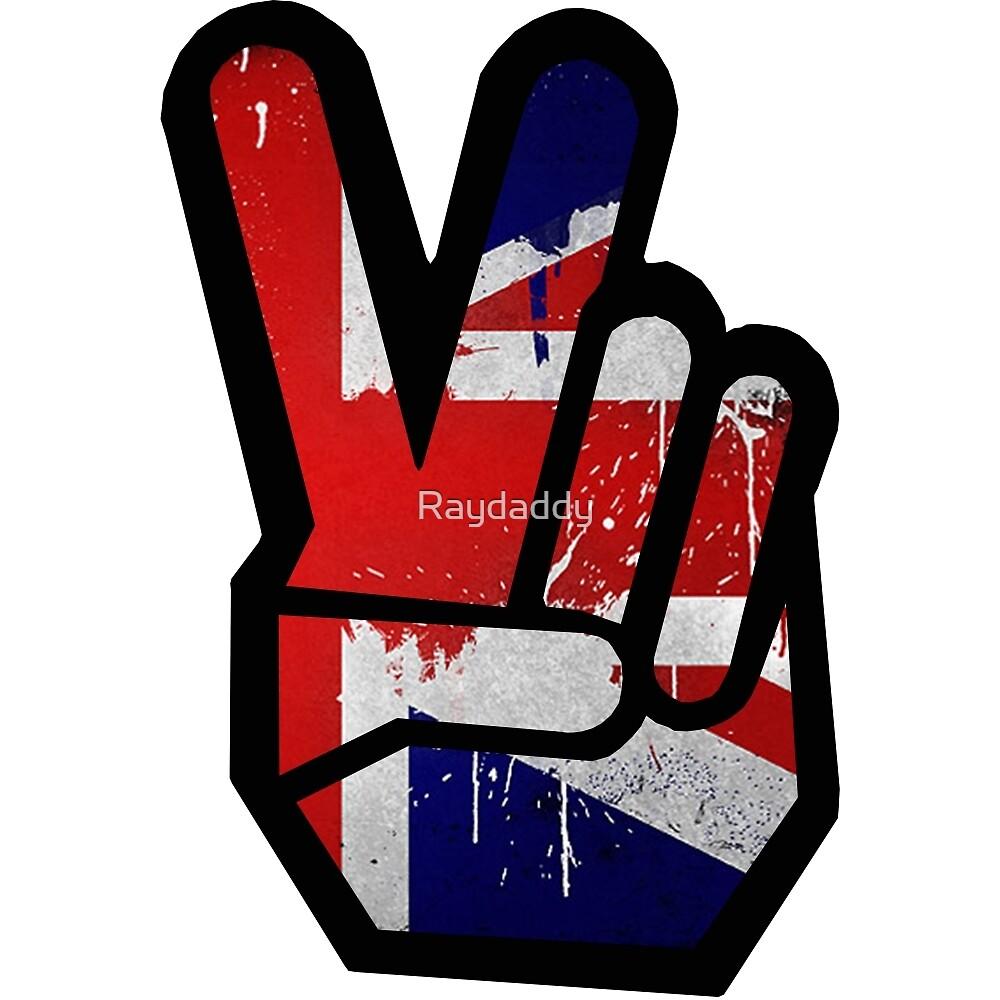 Peace Union Jack by Raydaddy