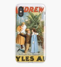 Performing Arts Posters The singing comedian Andrew Mack in the greatest of Irish plays Myles Aroon 1807 iPhone Case/Skin