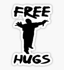 FREE HUGS ZOMBIE Sticker
