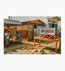 """The Only """"Restaurant"""" Photographic Print"""
