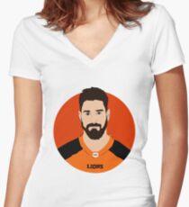 Jason Arakgi Women's Fitted V-Neck T-Shirt