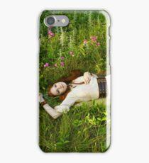Reclining Fox Maiden iPhone Case/Skin