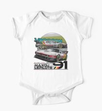 Maxou LePilote - Classic Cars  One Piece - Short Sleeve