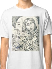 Surreal Maiden with pyramid.  Classic T-Shirt