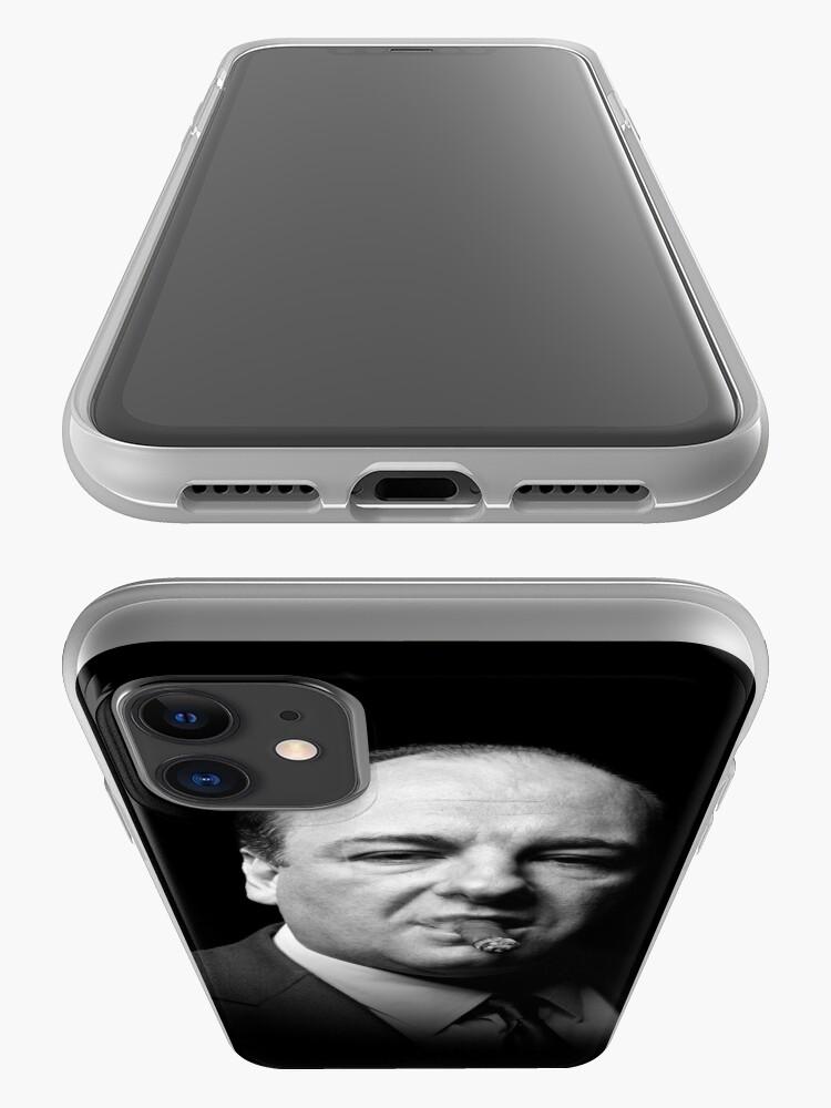 Alternate view of Tony Soprano | The Sopranos iPhone Case & Cover