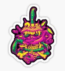 BEASTBURGER Sticker