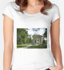 WW2 Memorial Women's Fitted Scoop T-Shirt