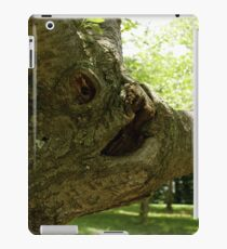 The Face on the tree iPad Case/Skin