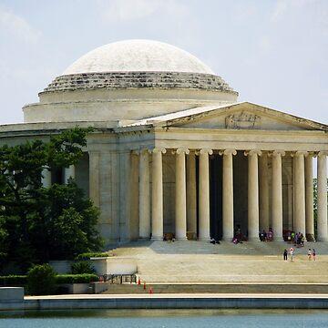 Jefferson Memorial Side by hernac10