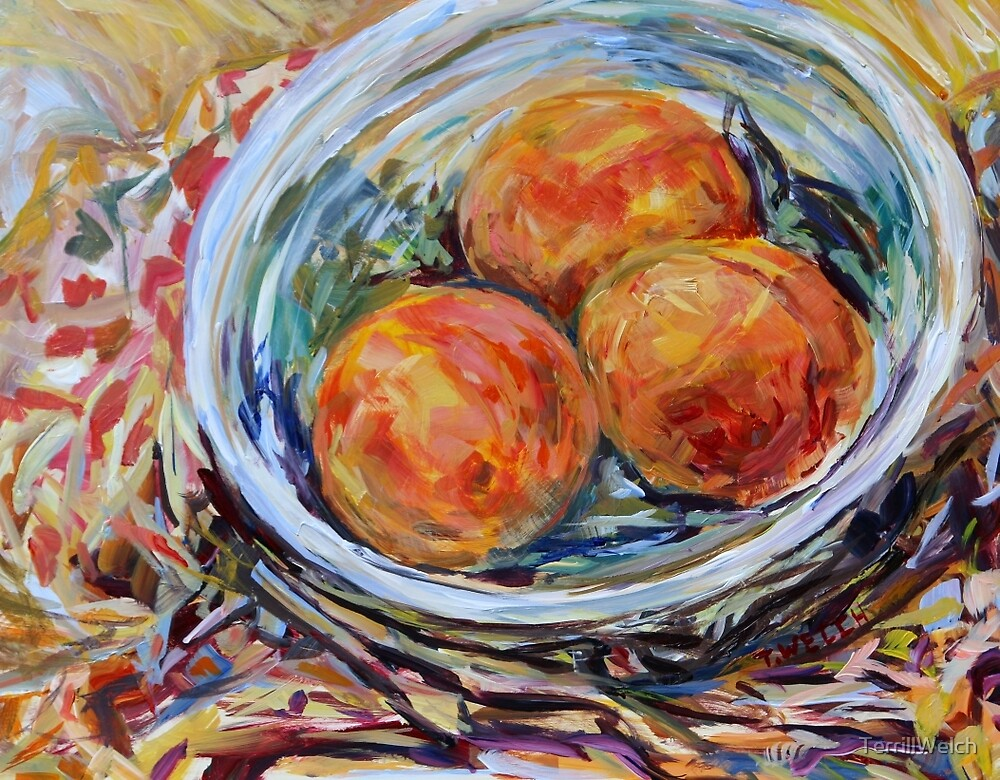 Study of Peaches by TerrillWelch