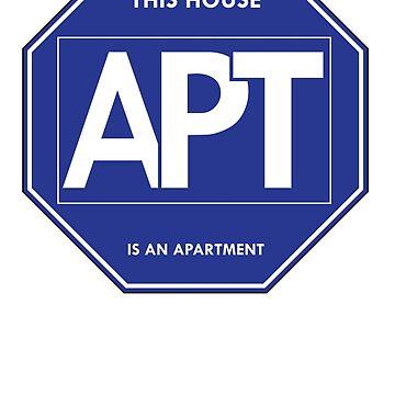 APT Fake Security Sticker by drewblack9