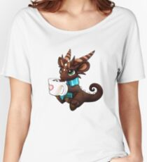 Hot Cocoa Dragon Women's Relaxed Fit T-Shirt