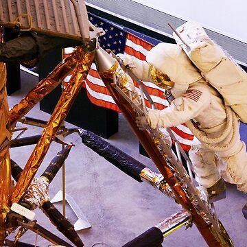 Astronaut Aboard by hernac10