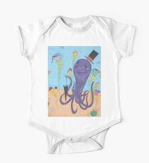 Octopus Tea Party One Piece - Short Sleeve
