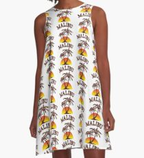 Malibu Rum A-Linien Kleid