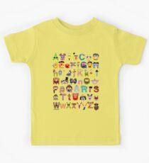 Sesame Street Alphabet Kids Clothes