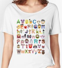 Sesame Street Alphabet Women's Relaxed Fit T-Shirt