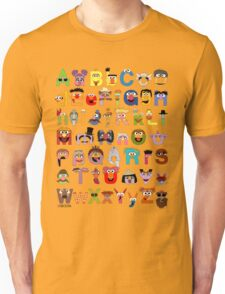 Sesame Street Alphabet Unisex T-Shirt