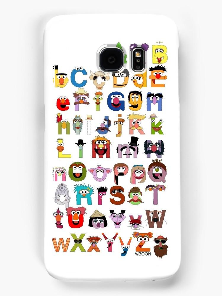 Sesame Street Alphabet by Mike Boon