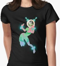 Space Babe Women's Fitted T-Shirt