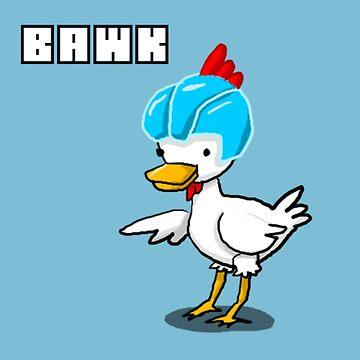 """RejectedShotgun's Admin Chicken: """"BAWK"""" by RejectedShotgun"""