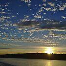 San Juan Island Sunset by Tom Vaughan