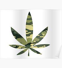 Army Leaf Poster