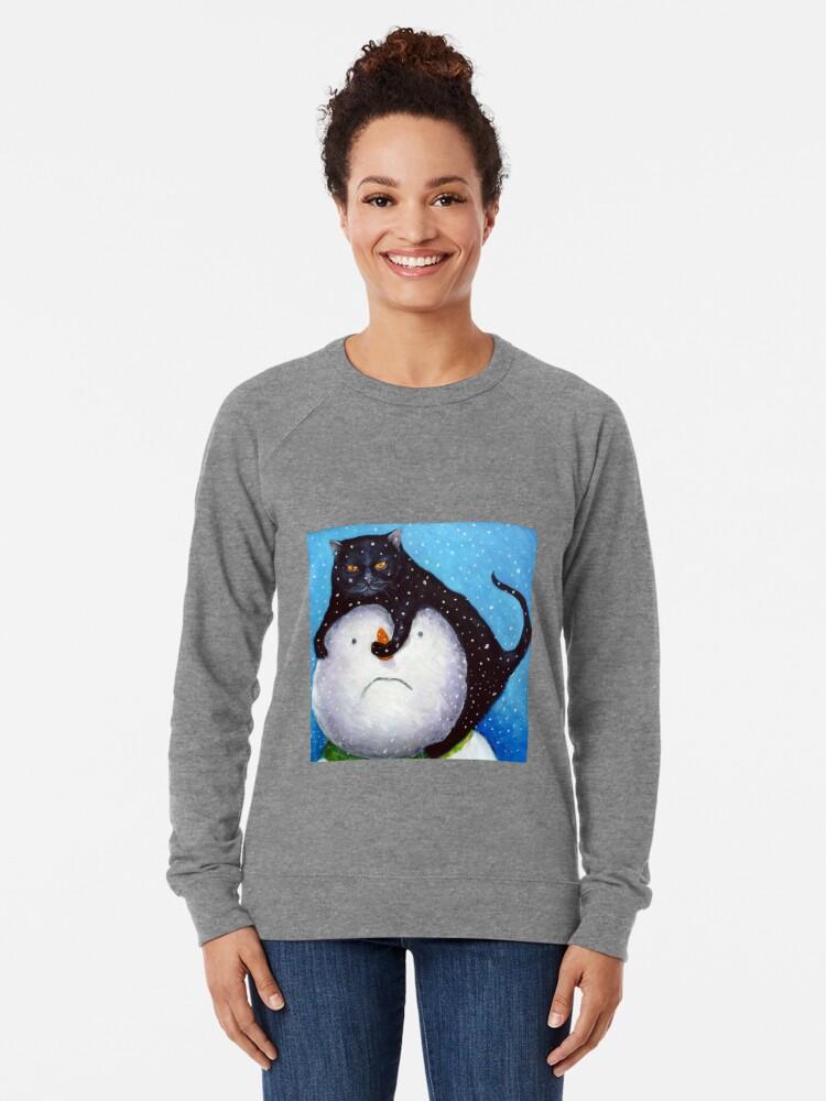 Alternative Ansicht von Einer Ihrer fünf am Tag Leichter Pullover