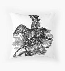 Paul Revere Throw Pillow