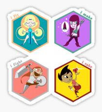 DnD Classes Sticker SET Sticker