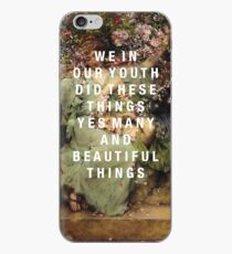 we in our youth iPhone Case