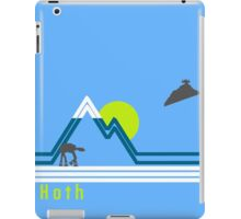 vintage hoth 2  iPad Case/Skin