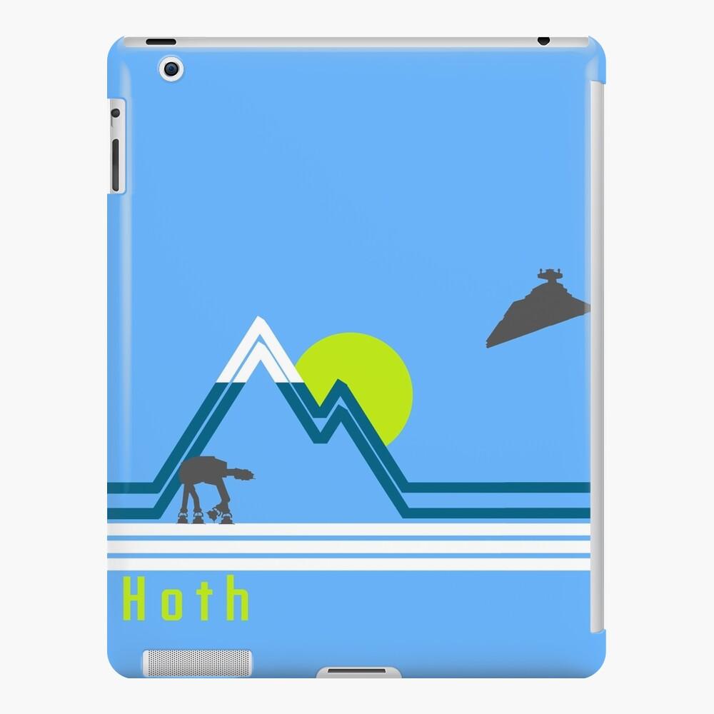 vintage hoth 2 Funda y vinilo para iPad