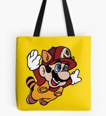 Super NFL Bros. - Redskins Tote Bag