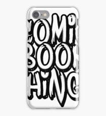 Comic Book Things Sticker iPhone Case/Skin