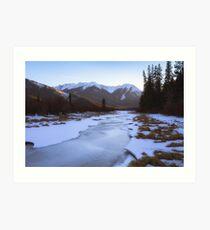 Vermillion Lakes - Banff - Canada Art Print