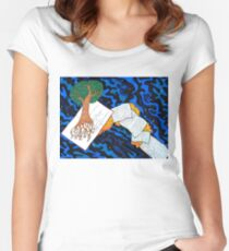 The tree of knowledge Women's Fitted Scoop T-Shirt