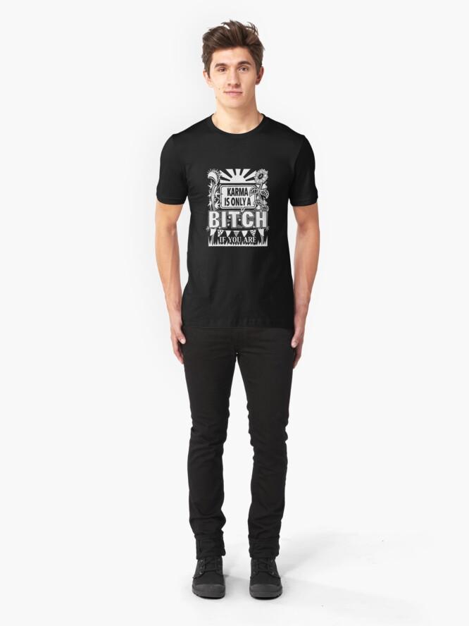 Alternate view of Karma Slim Fit T-Shirt