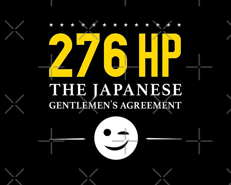276 horsepower the japanese gentlemens agreement canvas prints 276 horsepower the japanese gentlemens agreement by apexfibers platinumwayz