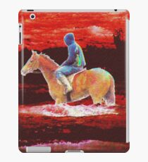Lonely Rider iPad Case/Skin