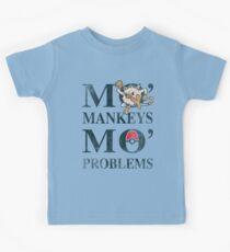 Mo Mankeys Mo Problems Kids Tee