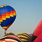 Hot Air Balloons in Ohio by Tony  Bazidlo