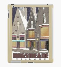 Hogsmeade Village Travel Poster iPad Case/Skin