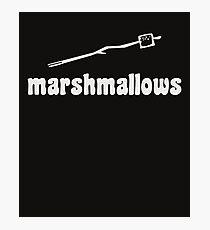 Marshmallow  Photographic Print