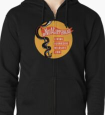 Not A Copperhead Zipped Hoodie