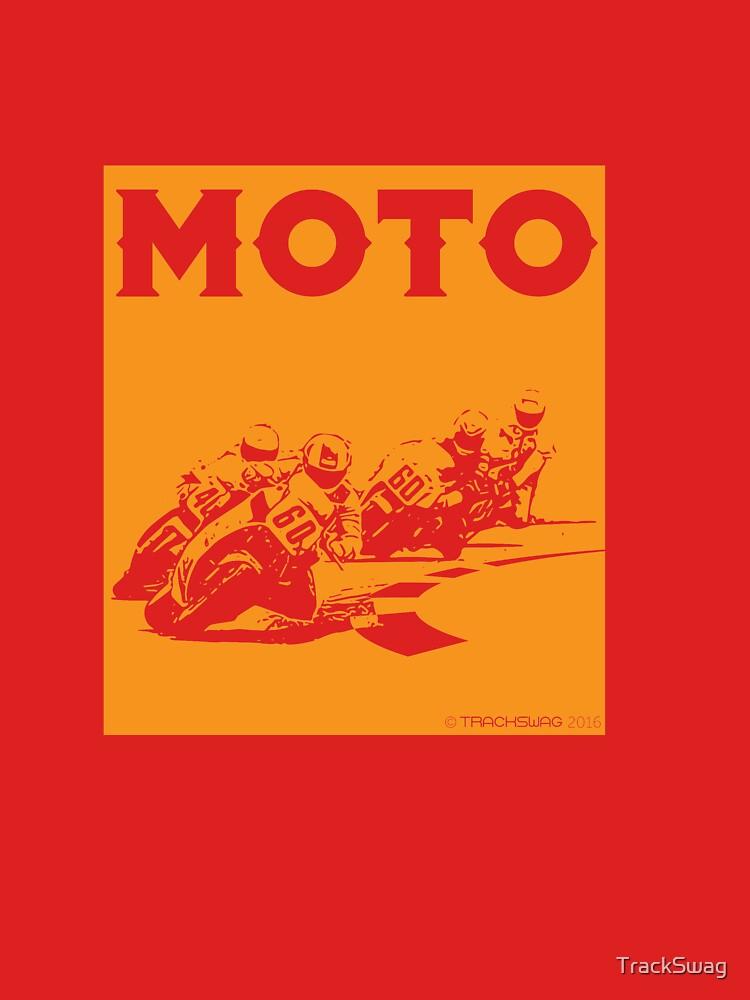Moto-Orange by TrackSwag