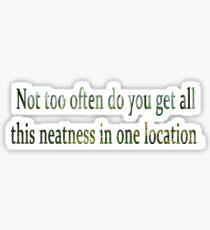 Neature walk: one location  Sticker