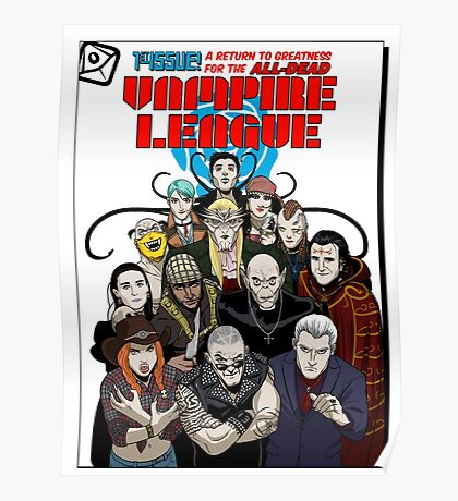 VAMPIRE LEAGUE Poster