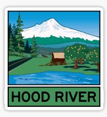 Oregon Scenic Byway - Hood River Sticker
